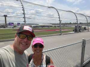 R&D Martin attended Ally 400 - NASCAR Cup Series Race - KB100 - Kurt Busch Fan Appreciation Tickets on Jun 20th 2021 via VetTix