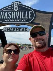 David attended Ally 400 - NASCAR Cup Series Race - KB100 - Kurt Busch Fan Appreciation Tickets on Jun 20th 2021 via VetTix