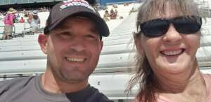 Paul Gobble attended Ally 400 - NASCAR Cup Series Race - KB100 - Kurt Busch Fan Appreciation Tickets on Jun 20th 2021 via VetTix