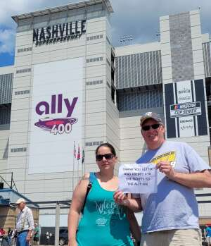 AM attended Ally 400 - NASCAR Cup Series Race - KB100 - Kurt Busch Fan Appreciation Tickets on Jun 20th 2021 via VetTix