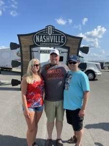 Jon Hilton Howard attended Ally 400 - NASCAR Cup Series Race - KB100 - Kurt Busch Fan Appreciation Tickets on Jun 20th 2021 via VetTix