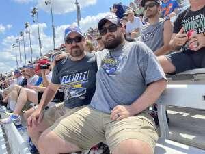 Jeremy attended Ally 400 - NASCAR Cup Series Race - KB100 - Kurt Busch Fan Appreciation Tickets on Jun 20th 2021 via VetTix