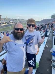 Gregg attended Ally 400 - NASCAR Cup Series Race - KB100 - Kurt Busch Fan Appreciation Tickets on Jun 20th 2021 via VetTix