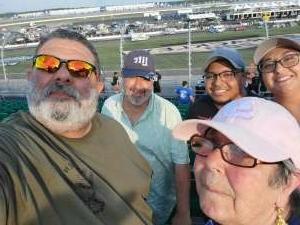 Haro Family attended Ally 400 - NASCAR Cup Series Race - KB100 - Kurt Busch Fan Appreciation Tickets on Jun 20th 2021 via VetTix