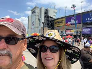 Don attended Ally 400 - NASCAR Cup Series Race - KB100 - Kurt Busch Fan Appreciation Tickets on Jun 20th 2021 via VetTix