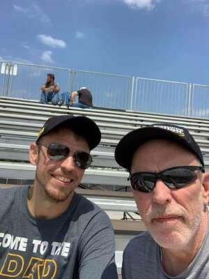 Chuck attended Ally 400 - NASCAR Cup Series Race - KB100 - Kurt Busch Fan Appreciation Tickets on Jun 20th 2021 via VetTix
