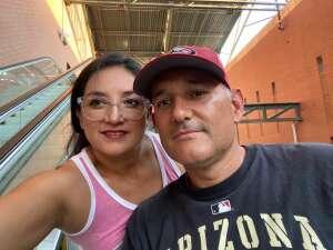 Hector attended Arizona Diamondbacks vs. Los Angeles Dodgers - MLB on Jun 18th 2021 via VetTix