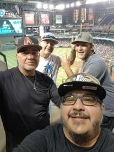 Holguin Boys attended Arizona Diamondbacks vs. Los Angeles Dodgers - MLB on Jun 18th 2021 via VetTix