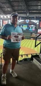 Dave attended Arizona Diamondbacks vs. Los Angeles Dodgers - MLB on Jun 18th 2021 via VetTix