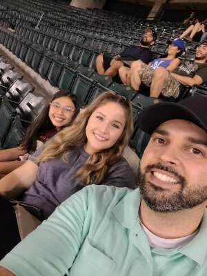 Anthony attended Arizona Diamondbacks vs. Los Angeles Dodgers - MLB on Jun 18th 2021 via VetTix