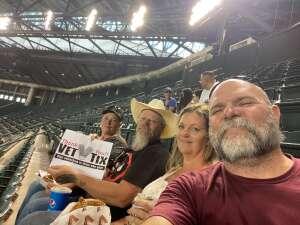 Charley J attended Arizona Diamondbacks vs. Los Angeles Dodgers - MLB on Jun 18th 2021 via VetTix