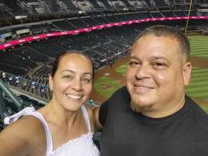Mary attended Arizona Diamondbacks vs. Los Angeles Dodgers - MLB on Jun 18th 2021 via VetTix