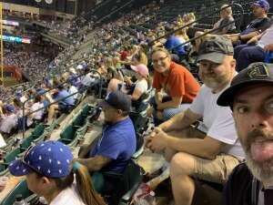 James attended Arizona Diamondbacks vs. Los Angeles Dodgers - MLB on Jun 18th 2021 via VetTix