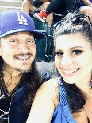 Megan attended Arizona Diamondbacks vs. Los Angeles Dodgers - MLB on Jun 18th 2021 via VetTix