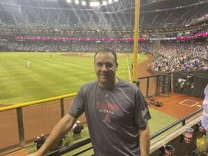 Jeff attended Arizona Diamondbacks vs. Los Angeles Dodgers - MLB on Jun 18th 2021 via VetTix