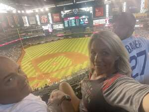 John Ares attended Arizona Diamondbacks vs. Los Angeles Dodgers - MLB on Jun 18th 2021 via VetTix
