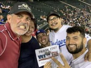 Stephen C attended Arizona Diamondbacks vs. Los Angeles Dodgers - MLB on Jun 18th 2021 via VetTix