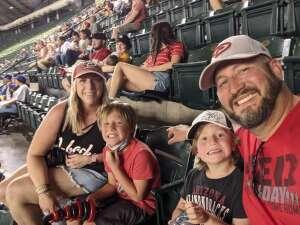 Warford Family attended Arizona Diamondbacks vs. Los Angeles Dodgers - MLB on Jun 18th 2021 via VetTix