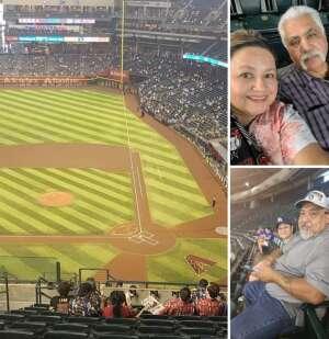 Ortiz  attended Arizona Diamondbacks vs. Los Angeles Dodgers - MLB on Jun 20th 2021 via VetTix
