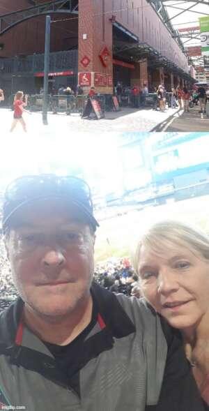 Mark Killinger attended Arizona Diamondbacks vs. Los Angeles Dodgers - MLB on Jun 20th 2021 via VetTix