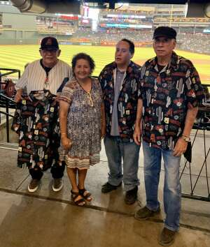 Steve attended Arizona Diamondbacks vs. Los Angeles Dodgers - MLB on Jun 20th 2021 via VetTix