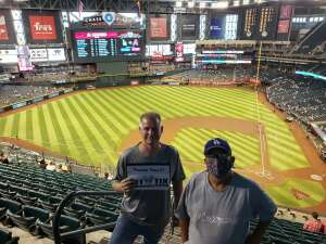 Charles attended Arizona Diamondbacks vs. Los Angeles Dodgers - MLB on Jun 20th 2021 via VetTix