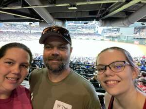 John H. attended Arizona Diamondbacks vs. Los Angeles Dodgers - MLB on Jun 20th 2021 via VetTix