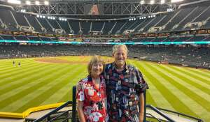 Martin  attended Arizona Diamondbacks vs. Los Angeles Dodgers - MLB on Jun 20th 2021 via VetTix