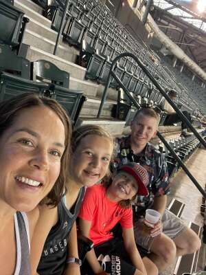 Justin attended Arizona Diamondbacks vs. Los Angeles Dodgers - MLB on Jun 20th 2021 via VetTix