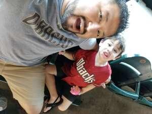 Lee attended Arizona Diamondbacks vs. Los Angeles Dodgers - MLB on Jun 20th 2021 via VetTix
