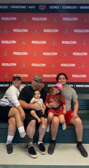 Reese Jimenez-Rowley attended Arizona Diamondbacks vs. Los Angeles Dodgers - MLB on Jun 20th 2021 via VetTix