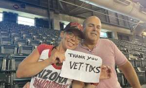 John Ares attended Arizona Diamondbacks vs. Los Angeles Dodgers - MLB on Jun 20th 2021 via VetTix