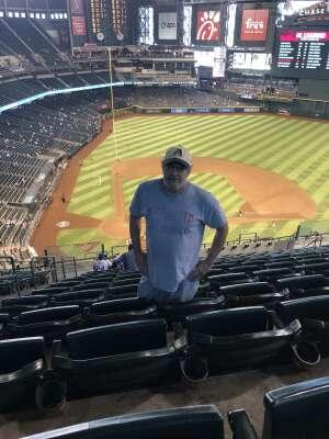Albert Rodriguez attended Arizona Diamondbacks vs. Los Angeles Dodgers - MLB on Jun 20th 2021 via VetTix