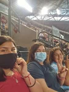 Eugene attended Arizona Diamondbacks vs. Los Angeles Dodgers - MLB on Jun 20th 2021 via VetTix
