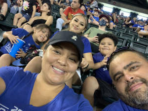 Erik Arias attended Arizona Diamondbacks vs. Los Angeles Dodgers - MLB on Jun 20th 2021 via VetTix