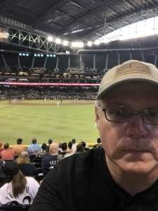 Brian  attended Arizona Diamondbacks vs. Milwaukee Brewers - MLB on Jun 21st 2021 via VetTix