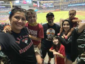Daniel attended Arizona Diamondbacks vs. Milwaukee Brewers - MLB on Jun 21st 2021 via VetTix