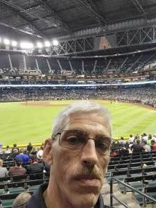 Mike attended Arizona Diamondbacks vs. Milwaukee Brewers - MLB on Jun 21st 2021 via VetTix