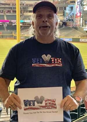 Jack attended Arizona Diamondbacks vs. Milwaukee Brewers - MLB on Jun 21st 2021 via VetTix