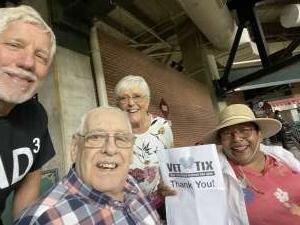 steve attended Arizona Diamondbacks vs. Milwaukee Brewers - MLB on Jun 21st 2021 via VetTix