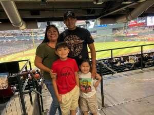 Samuels attended Arizona Diamondbacks vs. Milwaukee Brewers - MLB on Jun 21st 2021 via VetTix