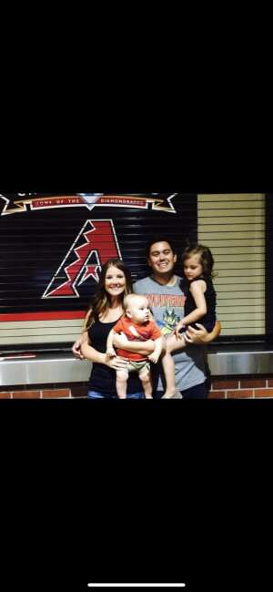 Kris attended Arizona Diamondbacks vs. Milwaukee Brewers - MLB on Jun 21st 2021 via VetTix