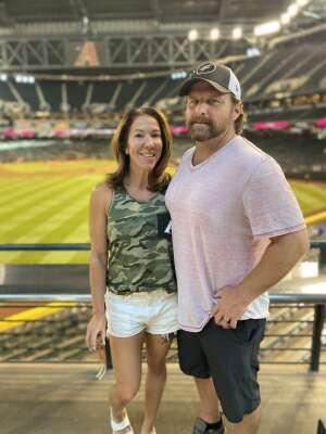 Shellie attended Arizona Diamondbacks vs. Milwaukee Brewers - MLB on Jun 21st 2021 via VetTix