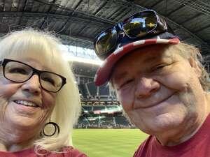 Donna attended Arizona Diamondbacks vs. Milwaukee Brewers - MLB on Jun 21st 2021 via VetTix