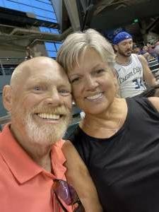 Jim D attended Arizona Diamondbacks vs. Milwaukee Brewers - MLB on Jun 21st 2021 via VetTix
