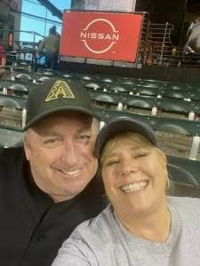Tony Simmons attended Arizona Diamondbacks vs. Milwaukee Brewers - MLB on Jun 21st 2021 via VetTix