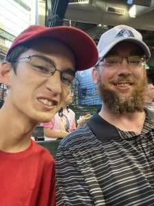 B attended Arizona Diamondbacks vs. Milwaukee Brewers - MLB on Jun 21st 2021 via VetTix