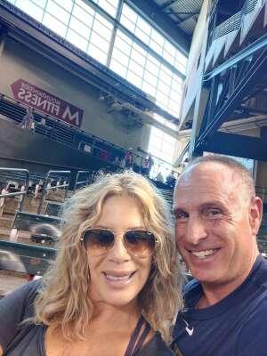 Andy Lueck attended Arizona Diamondbacks vs. Milwaukee Brewers - MLB on Jun 21st 2021 via VetTix