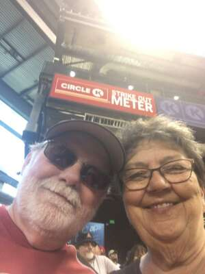 Kelly  attended Arizona Diamondbacks vs. Milwaukee Brewers - MLB on Jun 21st 2021 via VetTix
