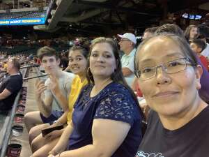 Leslie Charley attended Arizona Diamondbacks vs. Milwaukee Brewers - MLB on Jun 21st 2021 via VetTix